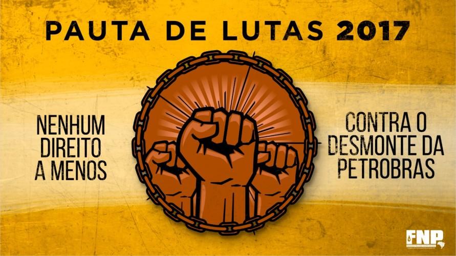 FNP entrega Pauta de Lutas à Petrobrás
