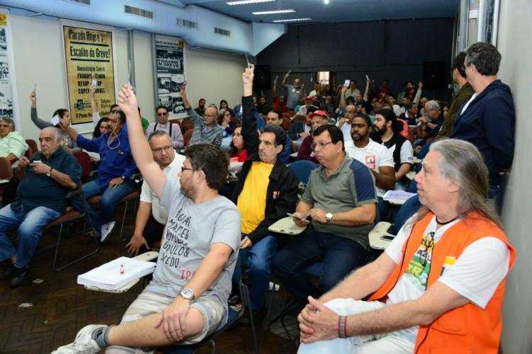 Congresso da categoria do Rio de Janeiro