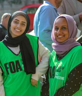 Volunteers of Friends of Al-Aqsa / FOA