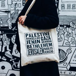 Palestine Cities Tote Bag