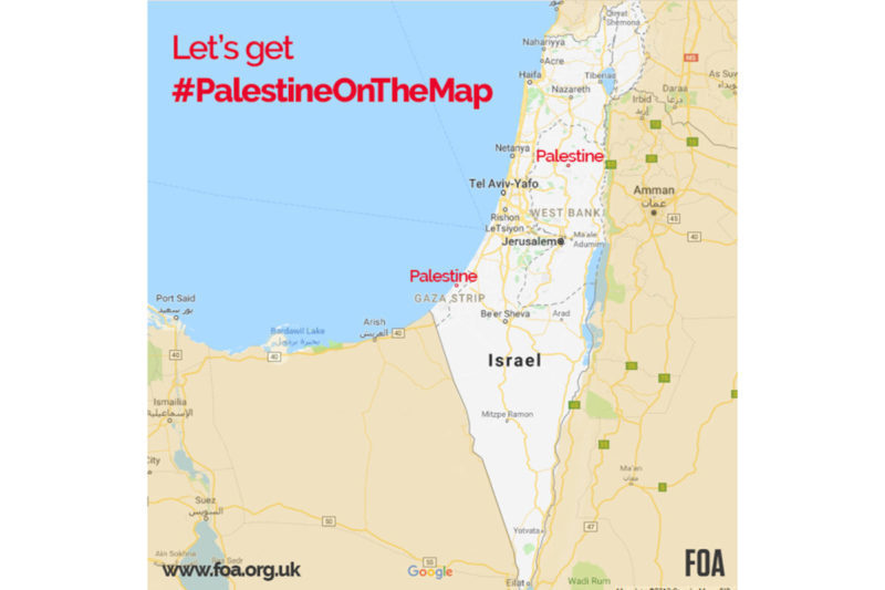 PalestineOnTheMap – Friends of Al-Aqsa on map of vatican city, map of golan heights, map of mediterranean sea, map of mauritius, map of lebanon, map of world, map of west bank, map of holy land, map of dead sea, map of red sea, map of syria, map of saudi arabia, map of middle east, map of iran, map of jerusalem, map of qatar, map of eastern caribbean, map of persian gulf, map of palestine, map of sea of galilee,