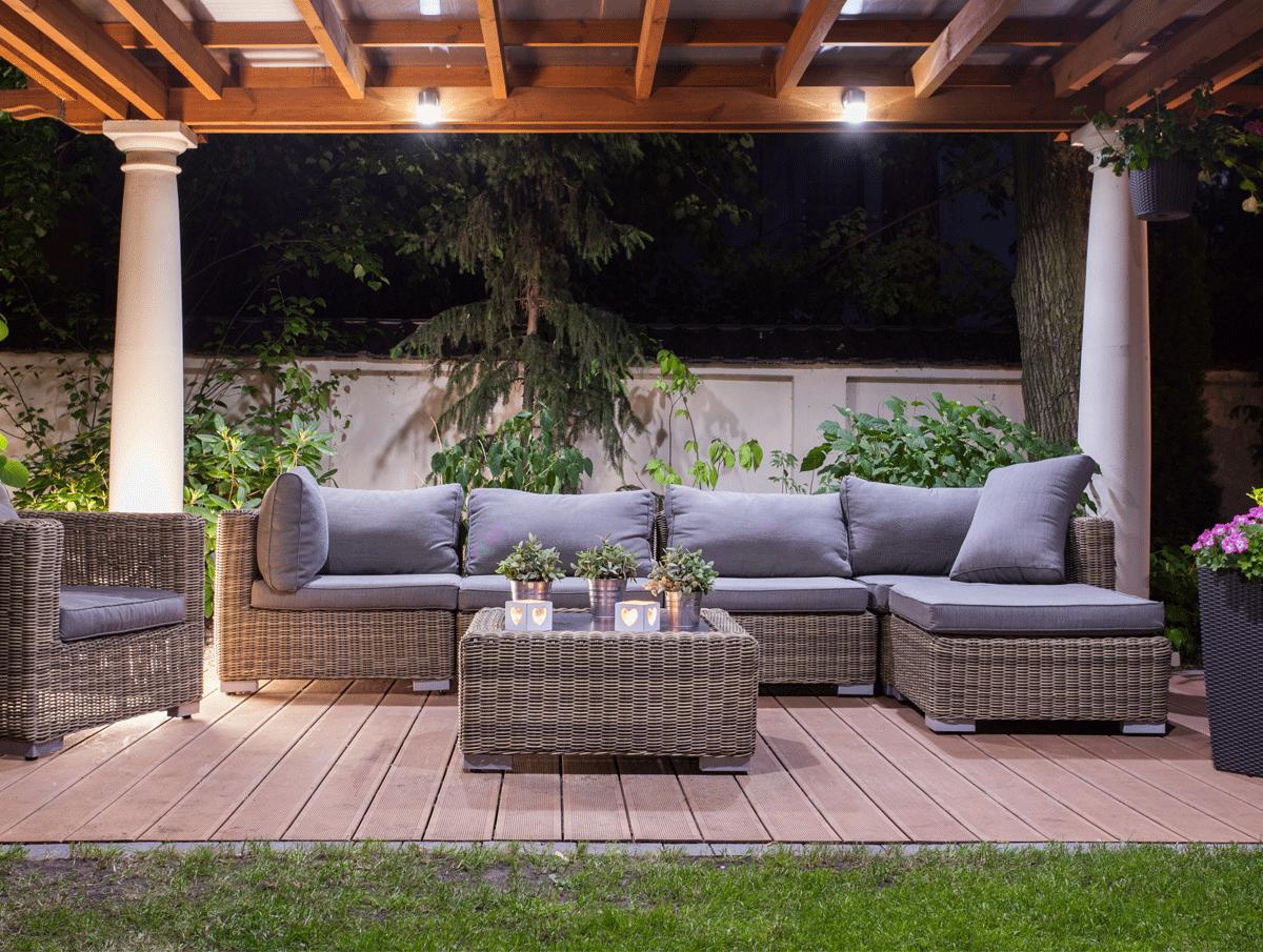 Cosy Garden Seating Area Foam For Comfort Blog