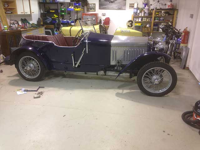 Frazer Nash Car