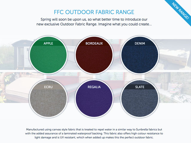 fabric for garden furniture cushions