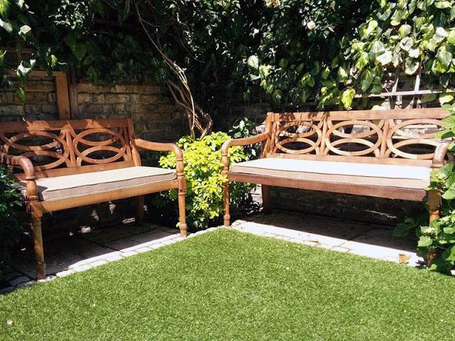 Foam For Comfort Garden Bench Cushions