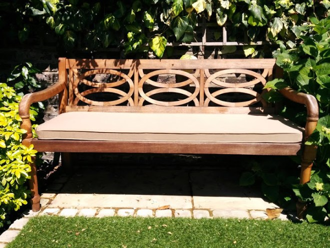Replacement Outdoor Cushions for Benches