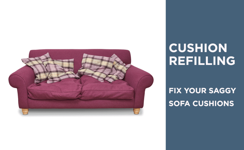 Cushion refilling service saves sofas