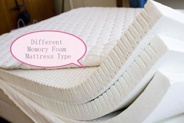 Different Types Of Memory Foam Mattress Foam Globes