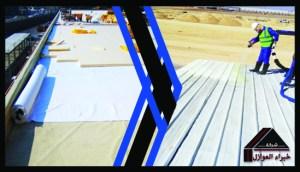 أرخص العوازل المائيه والحراريه 0533114231 عوازل الفوم فى الرياض