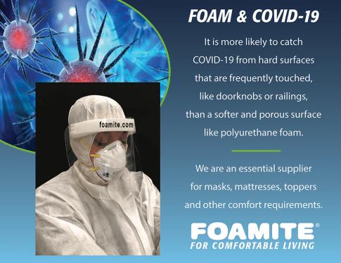 Foam & COVID-19