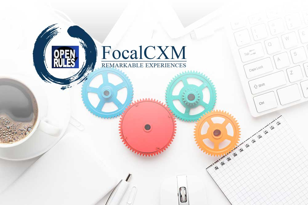 FocalCXM announces a new partnership with OpenRules Inc.