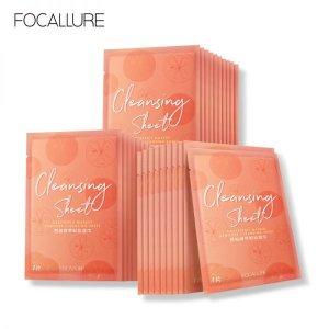 1 0 FOCALLURE Minerals Cleansing Sheet Rich Grapefruit Essence Weak Acid Makeup Remove Skin Cleansing Cotton 600x600 1 300x300
