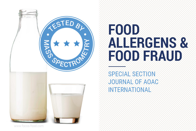 Detection of Food Allergens and Food Fraud by Mass
