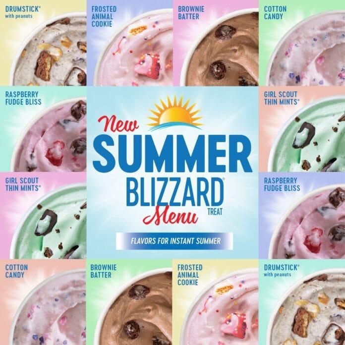 DQ Summer blizzard