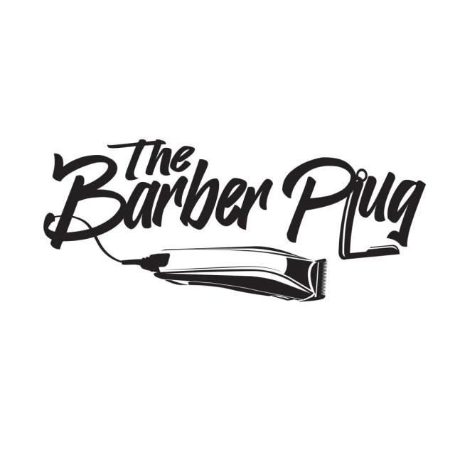 Barber plug logo.