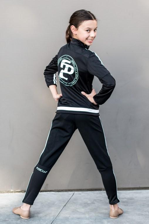 Sophia Albornoz in FOCUS Dance Center Tracksuit