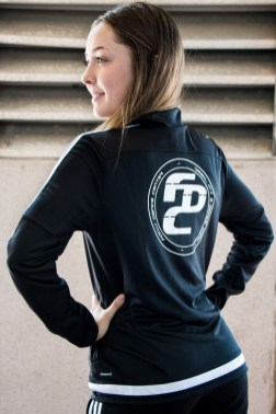 Katie Rachels in FOCUS Dance Center Tracksuit