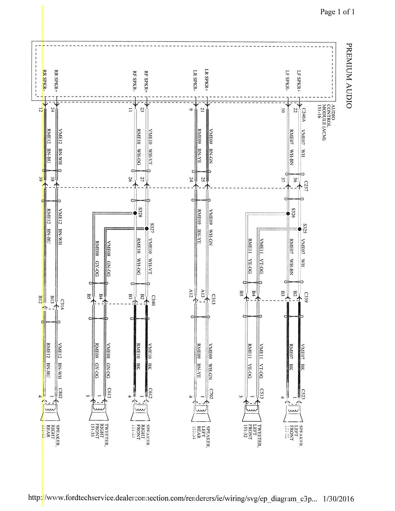 Focus Mk3 5 Stereo Wiring Diagram