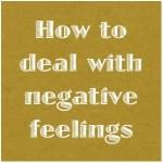 ネガティブな感情との付き合い方|フォーカシング・ネットワーク・コラム