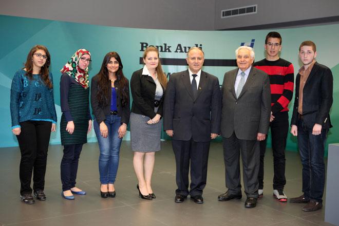 Bank Audi finance les frais de scolarité de 7 étudiants de l'USJ