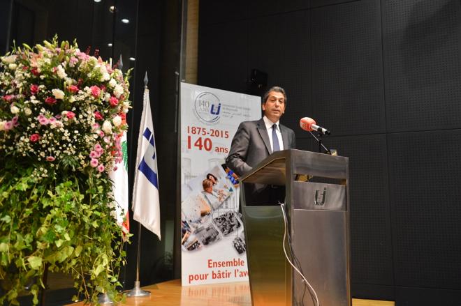 Lancement des célébrations du 140e anniversaire de l'USJ