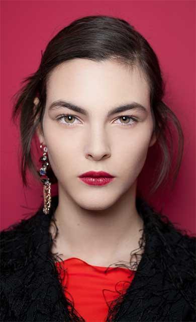 Maquillage de la collection Haute Couture Printemps-Eté 2016