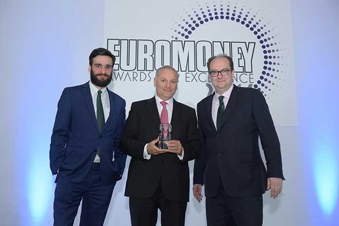 """Euromoney décerne à BLOM BANK le prix  de : """"Meilleure Banque au Liban pour l'année 2016"""""""