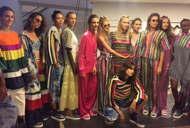 Backstage de la «Arab Fashion Week» à Dubai
