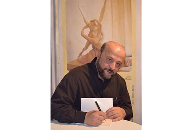 Signature du livre «Judas l'iscariote, la méprise» de Melhem Riachi