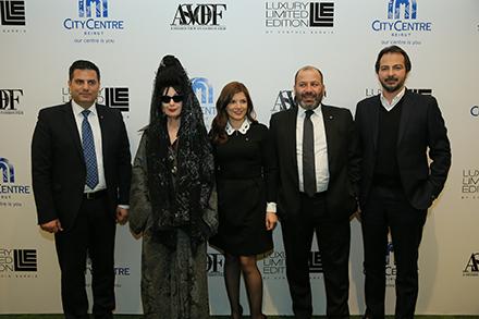 City Centre Beirut inaugure la semaine de la mode en la présence de la célèbre Diane Pernet