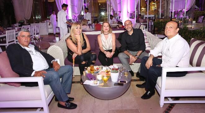 Un lieu parfait de rencontre avec une touche orientale  Améthyste à l'hôtel Phoenicia Beirut s'ouvre cet été