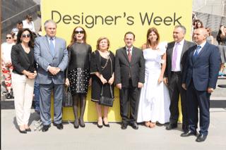 Le ministre du tourisme Owadis Kidanian inaugure la 5ème édition de Designer's Week au Zaitunay Bay sous le patronage du ministère du tourisme