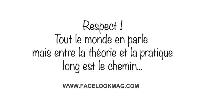 Respect ! Tout le monde en parle…