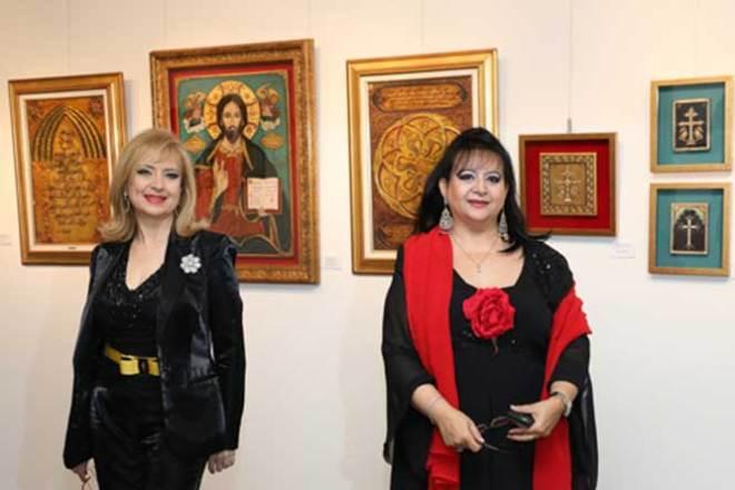 Une Exposition D'Art Sacré: «Beyrouth, ville modèle de Coexistence»  Par les artistes Lena & Hilda Kelekian
