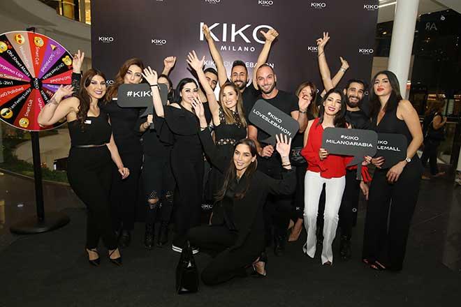 L'inauguration de Kiko Milano à le Mall Debayeh