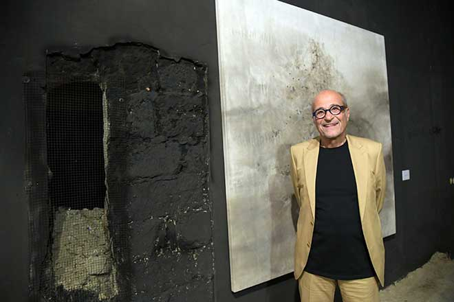 """Building With Fire"" an exhibition by Jean Boghossian in Beirut till October 28"