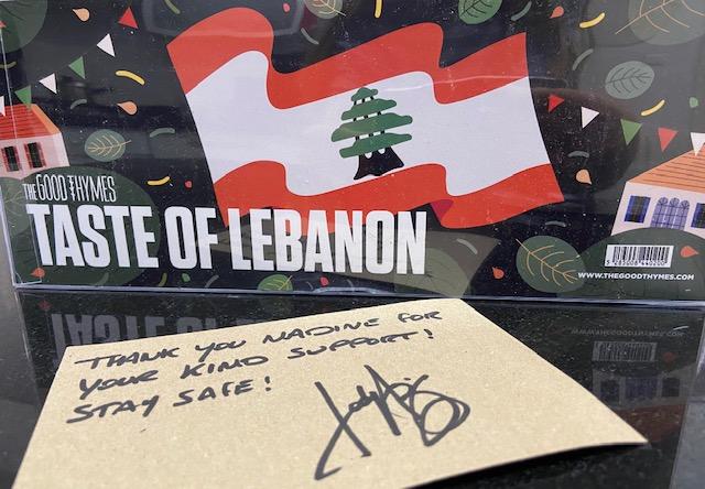 The Good Thymes: Le succulent «Zaatar» Libanais aux nombreuses vertus