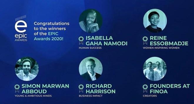 """World Prize EPIC AWARDS  catégorie 2020 """"Young and Ambitious Minds"""" décerné à l'architecte libano-belge, Simon Marwan Abboud"""