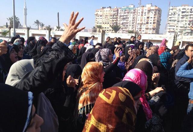 Port Said protests. Ph.@Captramy