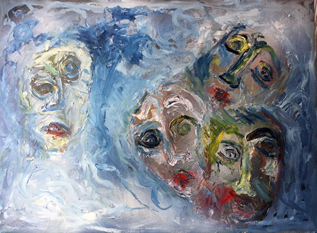 1_Trasparenze nel Mediterraneo, olio su carta intelata 35x50_Luciano Bonetti_640