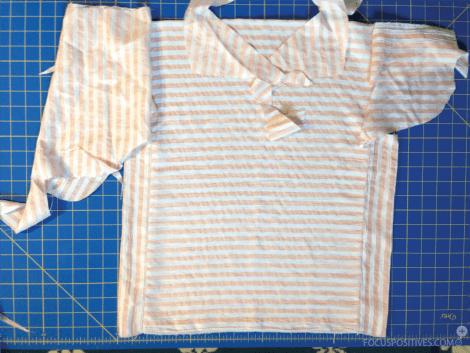 Scrap fabric challenge: DIY vintage summer top