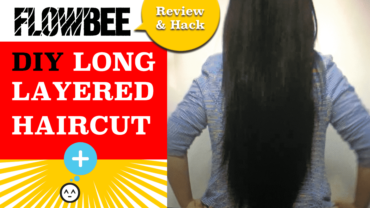 Flowbee Review & Hack: How to Cut a Long Layered Haircut ...