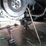 How To Install A New Flywheel Clutch Ford Focus St Forum