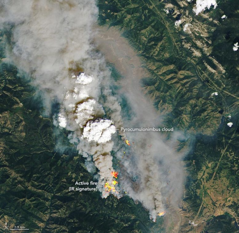 McKay Creek Fire Annotated