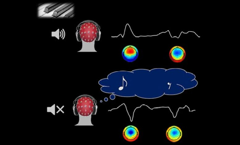 Imagined Music and Silence Trigger Similar Brain Activity
