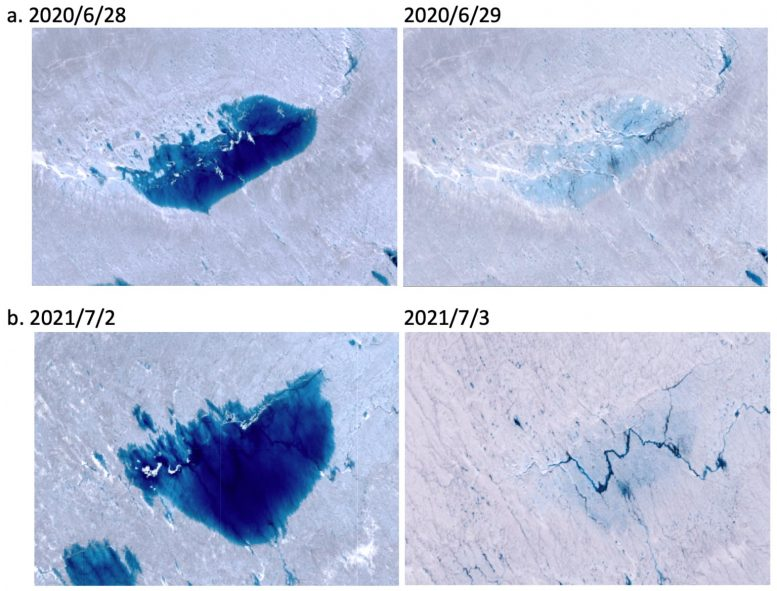 GPS Observations of Surface Uplift