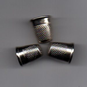 thimbles for closed tailoring, thimbles