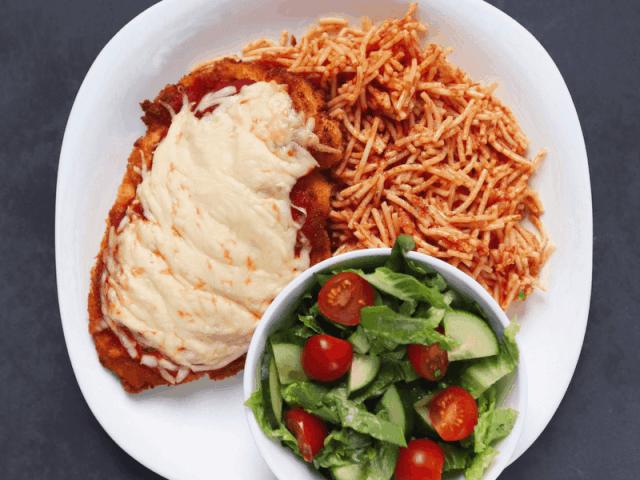 Low FODMAP Chicken Parmesan