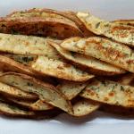 Low FODMAP Potato Wedges on Plate