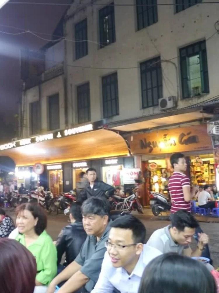 Hanoi streetfood tour